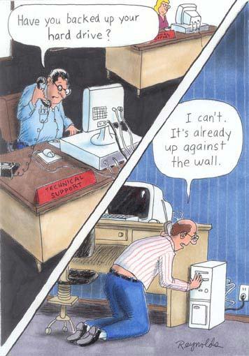 Tech Support Comic