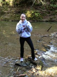 Standing in Creek