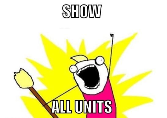 Units!