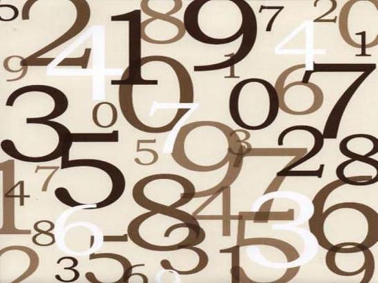 numbers-brown