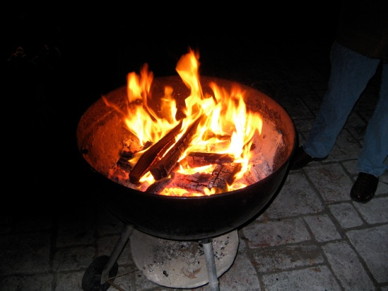 fire bowl, heat