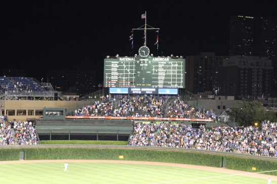 Wrigley, Chicago Cubs, Baseball